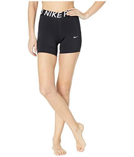 Nike Women's Pro 5 Training Shorts XL AO9975-010 Black/White