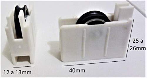 1 Rueda o rodamiento de ventana P3 recambio para ventana