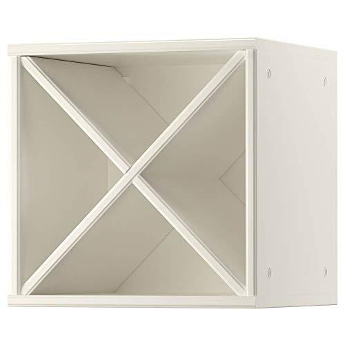 IKEA ASIA TORNVIKEN Weinregal Ecru 40x37x40cm