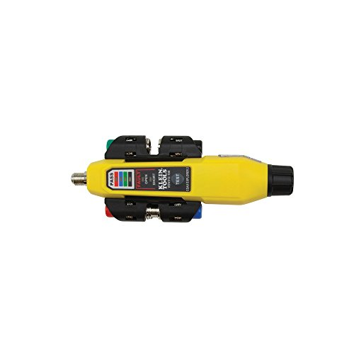 Klein Tools VDV512-101 Explorer 2 Coax Tester Kit, Includes Cable Tester / Wire Tracer / Coax Mapper with Remotes to Test up to 4 Locations