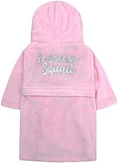 e6bf3a59f4bfd 4 KIDZ Filles Sequin Bordure Peluche Peignoir Robe de Chambre Polaire