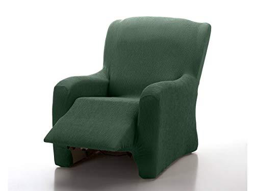 CAÑETE - Funda sillón Relax Completo JARA - Color Verde Botella