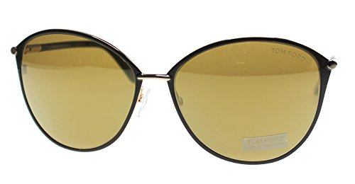 Sunglasses Tom Ford PENELOPE TF 320 FT 28G shiny rose gold / brown mirror