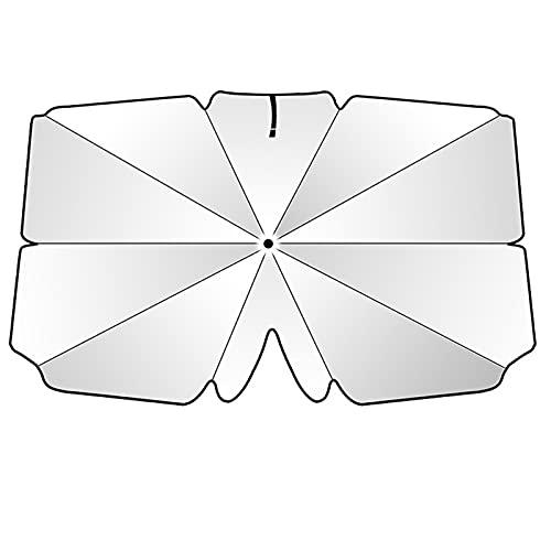 YLSS Parabrisas De Coche Parasol Plegable Portátil Parabrisas Delantero Bloques De Parasol De Luz UV para La Mayoría De Los Coches Familiares,79×140 cm/31.1×55.1 Inches
