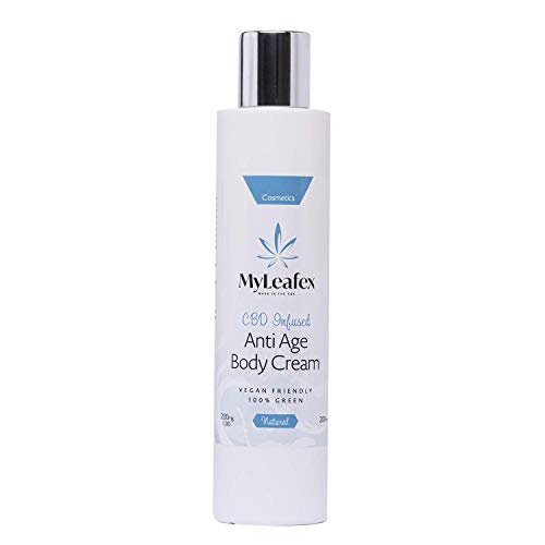 MyLeafex CBD Infused Anti Age Body Cream 200ml - 200mg CBD