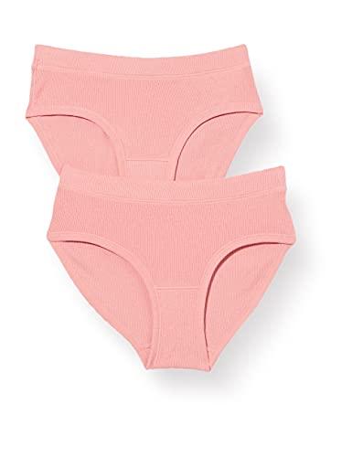 ESPRIT Bodywear Damen Micro Rib COO 2 Hipster Short, 645/CORAL, L
