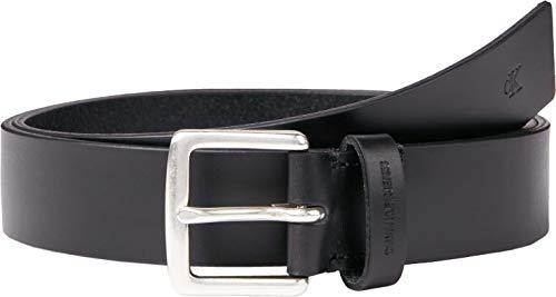 Calvin Klein Jeans Classic Belt 35MM Cintura, Nero, 105 Uomo