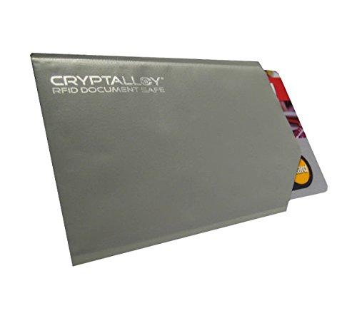 Datenschutzhülle für kontaktlose Kreditkarten, EC-Karten, GiroGo, Ausweise, Karten (RFID, NFC, Funk-Chip) RFID-Blocker, 5er Set