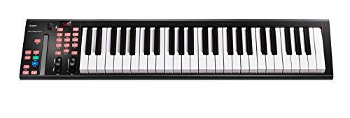 Icon ICOK-IKEYBOARD4X iKeyboard 4X – Midi-Tastatur, halbgewichtete Tasten mit Einkanal-DAW-Controller 49 Schlüssel 49 Note