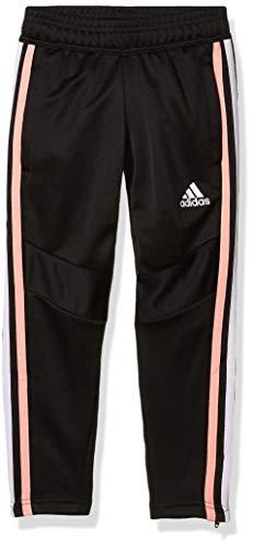 adidas Girl's Tiro 19 Training Pant Girl Black/Glory Pink/Purple Tint/Yellow Tint Medium