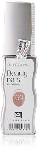 MH Cosmetics Gel Polish Vernis semi-permanent 069 Beige Rose 1 pièce 10 ml