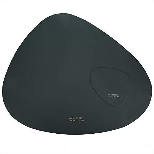 Gedourain Mantel Individual, tapete de Mesa con Aislamiento térmico para Colocar la Placa para Colocar la Taza para Colocar el Cuenco(Green, Blue)