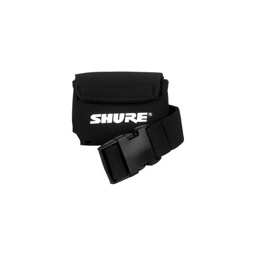Shure WA570A Neoprene Bodypack Belt Pouch for Wireless Bodypack Transmitters - Ideal for Fitness Instructors