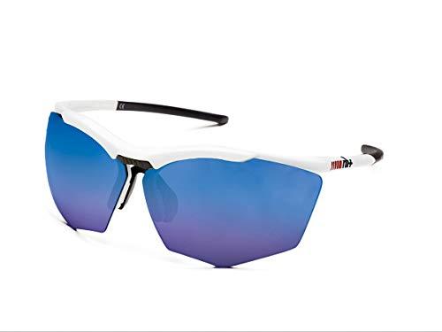 Zero RH+ Sunglasses Super Stylus, Occhiali/maschereunisexsportglassespermanent Unisex – Adulto, Smoke Flash Blue + Orange, One