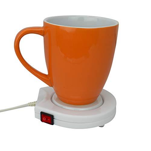 Evelots Desktop Electric Mug Warmer for Coffee-Tea-Cocoa-Soup-Home-Office