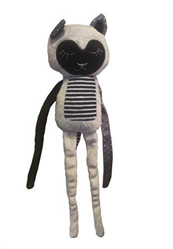 Canpol - Colgante para cochecito de bebé, diseño de gato, color gris