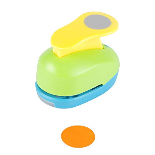 Circle Punch 1 inch Craft Lever Punch Handmade Paper Punch Candy Color by Random?Candy Circle?