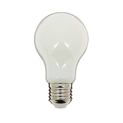 Lampadina a filamento LED A60 – attacco E27 – 7W cons (60W Eq) – luce bianca calda