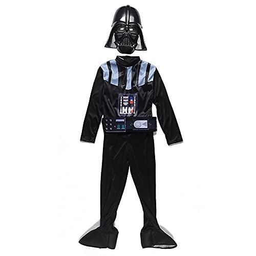 Star Wars Cosplay disfraces El ascenso de Skywalker Darth Vader Cosplay Jedi Uniformes Disfraz de Boys Halloween Carnival (Color : Multi-colored, Size : M)