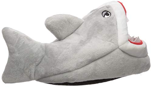 The Children's Place Boys' Fashion Slipper, Grey, Youth 5-6 Regular US Toddler