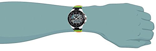 TONSHEN Digital Sport Watches for Men and Boy Multifunction Outdoor 50M Waterproof LED Electronic Analog Quarz Military Wrist Watch 12H/24H Backlight Dual Time Calendar Date Stopwatch