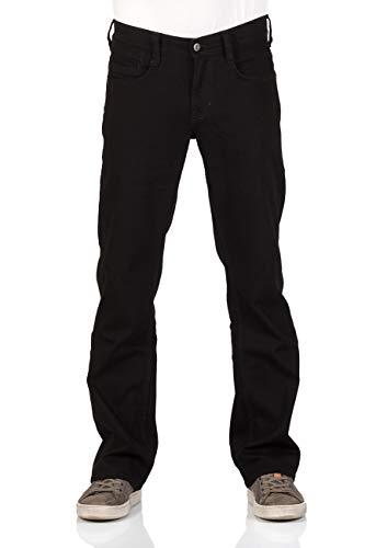 MUSTANG Herren Jeans Hose Oregon Bootcut Männer Jeanshose Denim Stretch Baumwolle Blau Schwarz W30 W31 W32 W33 W34 W36 W38 W40, Größe:W 40 L 34, Farbe:Black Denim (940)