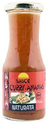 Naturata Bio Curry-Ananas Grill- und Würzsauce (1 x 250 ml)