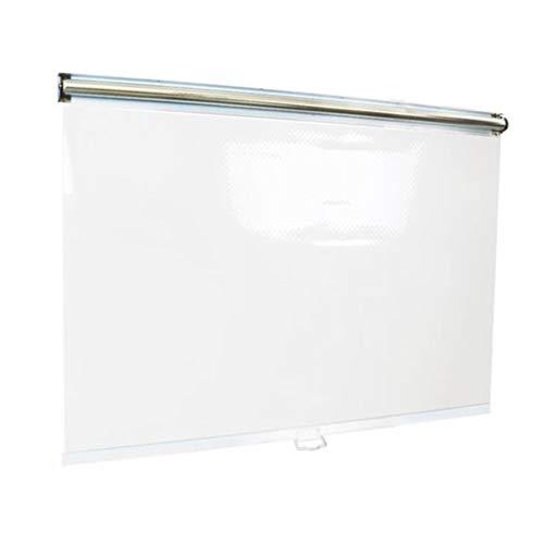 Persiana Enrollable plástico Transparente, 75cm / 80cm / 85cm / 90cm / 95cm / 100cm / 105cm / 110cm / 115cm / 120cm de Ancho (Size : 115cm×150cm)