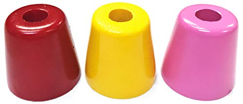 Eclipse Novelty Bright Colored Cermaic Cigarette Snuffer, Smoke Head Stop, 3ct, BUTT41L-3