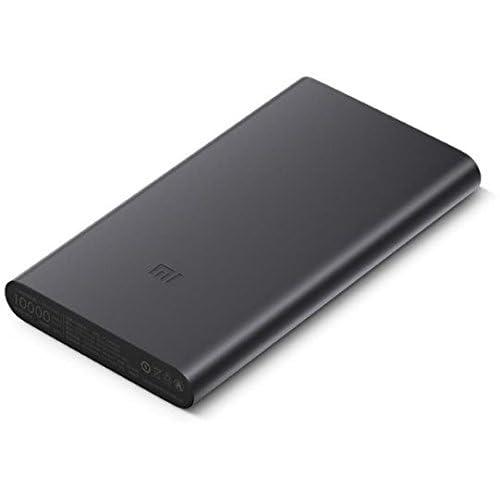 Xiaomi 14843 - Batería portátil de 10000 mAh, Color Negro: Amazon ...