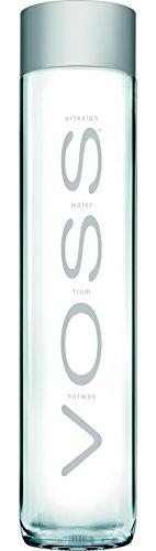 bester der welt Voss ArtesianSTILL 6 x 0,8 Liter Gletscherwasser in einer Glasflasche 2021