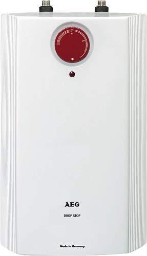 AEG offene elektrischer Kleinspeicher 5 Liter HUZ Drop Stop Untertischgerät Elektro Boiler