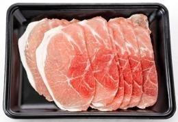 やんばる島豚あぐー ≪黒豚≫ モモ しゃぶしゃぶ用 500g フレッシュミートがなは 沖縄のブランド黒豚 脂肪が甘く旨み成分豊富な豚肉
