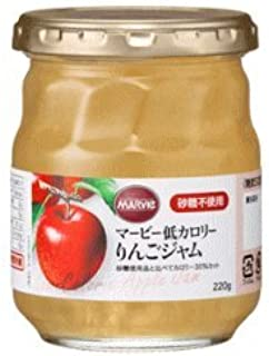 H+Bライフサイエンス マービー低カロリー りんごジャム 220g