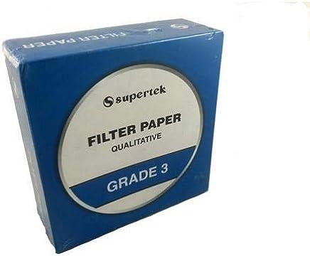 Circular Filter Paper United Scientific Supplies FPR011 35 Packs of 100 pcs
