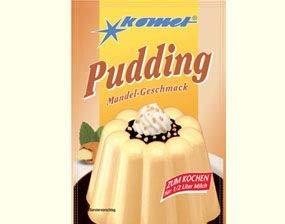 Puddingpulver Mandel Komet 40g