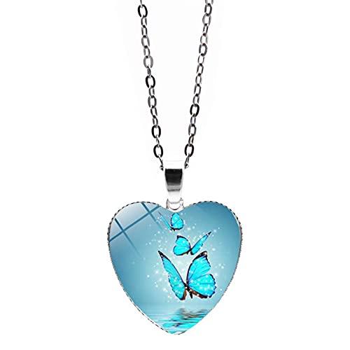 goodjinHH 01 Damen Halskette,Unendliche Liebe Halskette Temperament Schlüsselbein Kette,Diamant Halskette,Schmuck Gut für Frauen und Mädchen Allgleiches Schmuck (D)