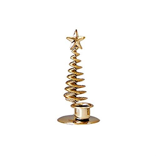 siqiwl Candeliere, Albero di Natale Metallo Cavo Stand Center Center Candlestick Ornamenti da Tavolo Centrotavola da Tavolo Decorazione della casa portacandele (Color : 01)