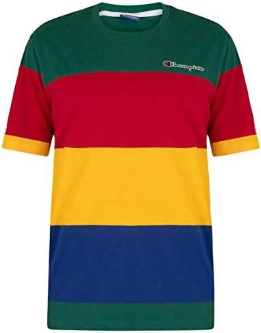Champion Camiseta Multicolor con Logo en el Pecho para Hombres