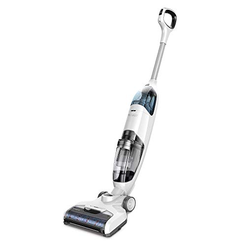 Tineco iFLOOR Cordless Wet Dry Vacuum Cleaner and Mop, Powerful One-Step Cleaning for Hard Floors,...