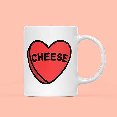 N\A Käsebecher Cheesy Geschenk Ich Liebe Käse Feinschmecker Geschenk Strumpf Füller Geheime Santa Cheese Lover Geschenk Lustige Tasse Lustige Käse Geschenk
