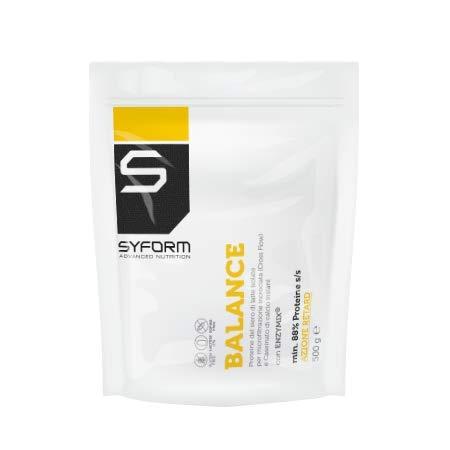 SYFORM BALANCE proteine whey PROTEINE DEL SIERO DEL LATTE Vari Formati e Gusti.Proteine in polvere. Caseinato di calcio. Meno 1% Lattosio Senza glutine Ridotto contenuto di grassi.(Cacao, 500 gr.)