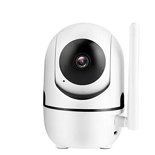 ASHATA Cámara IP WiFi, HD 720P / 1080P Cámara de Seguridad WiFi Cámara IP WiFi, Cámara de Interior en casa Monitor de bebé Cámara de Seguridad Inteligente Que Gira en (1080P)