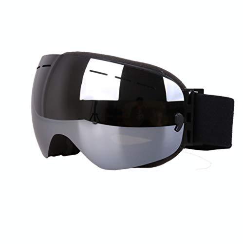 AFANGMQ Gafas de Snowboard de esquí Protección UV a Prueba de Viento, Snowboard, Motocicleta, Empresas de Nieve for Hombres de Invierno Vidrios Protectores for Hombres for Hombres