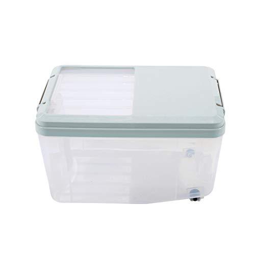 Teakpeak Reisbehälter 10KG, Reis Aufbewahrungsbox Küchen Lagerung Box Behälter mit Deckel Küche