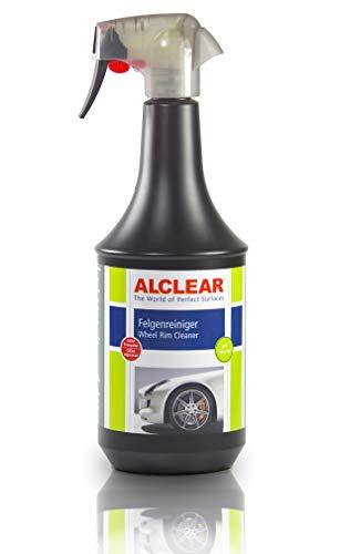 ALCLEAR Limpiador de Llantas de Coche Premium para Llantas lacadas de Aluminio o Acero, pH-Neutro, 1.000 ml