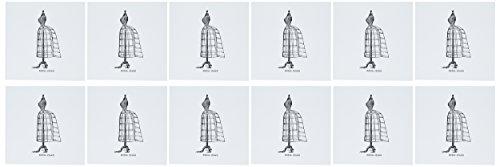 3dRose Vintage Dress Form Fashion Greeting Cards, 6