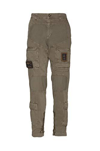 Aeronáutica Militar Pantalón Anti-G PA1284CT, 57374 Marrón, Hombre, Trousers, Pants, Hosen