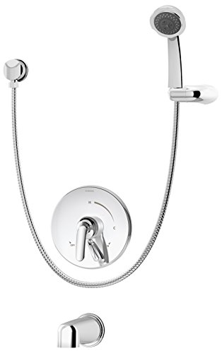Symmons Elm S-5504 Tub/Handshower System, Chrome