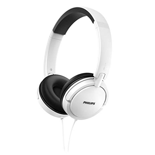 Philips SHL5030WT/00 Auricular Supraaural Diadema Blanco - Auriculares (Supraaural, Diadema, Alámbrico, 9-24000 Hz, 1,2 m, Blanco)